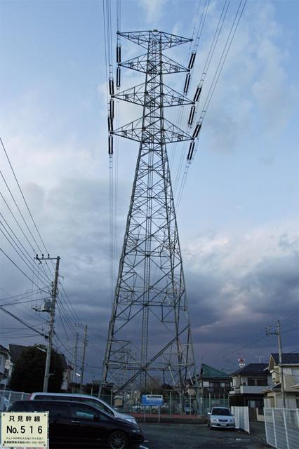 只見幹線516号鉄塔