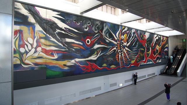 岡本太郎「明日の神話」