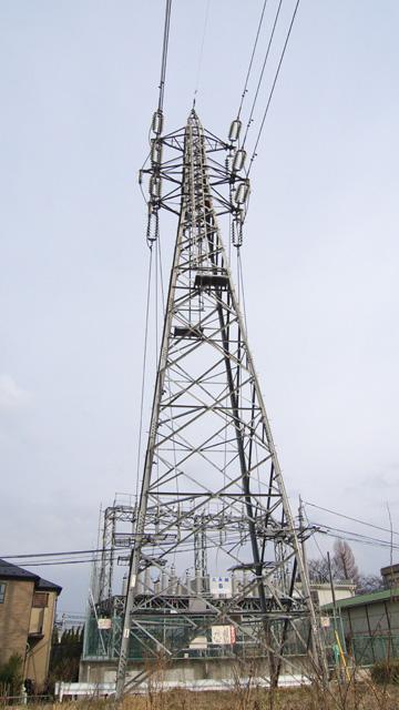 久米線6号鉄塔