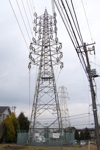 東大和線33号鉄塔