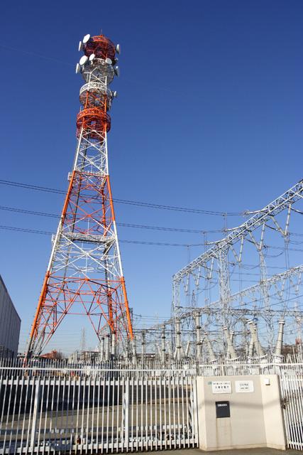東京電力多摩変電所