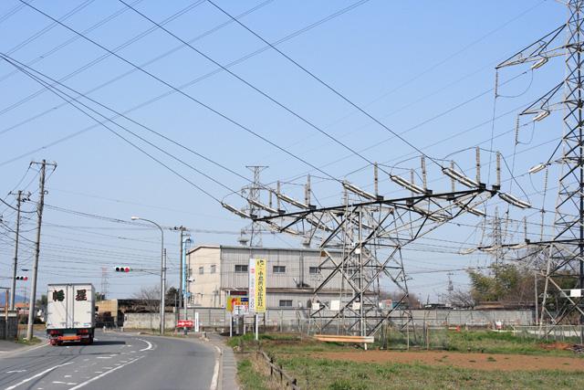 JR中東京信濃川線5号鉄塔