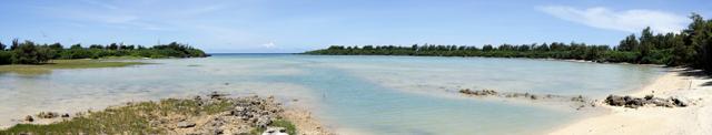沖縄・水納島の内湾