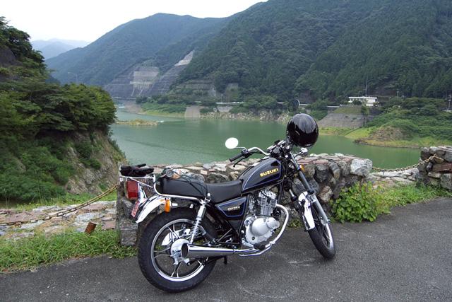GN125H試走~名栗湖