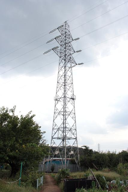 岡部境線97号鉄塔