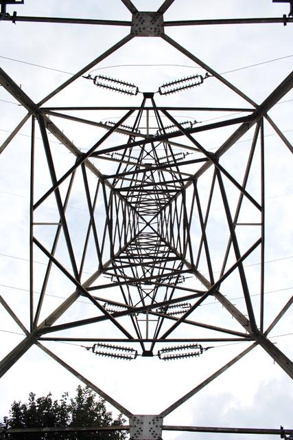 岡部境線98号鉄塔の結界画像