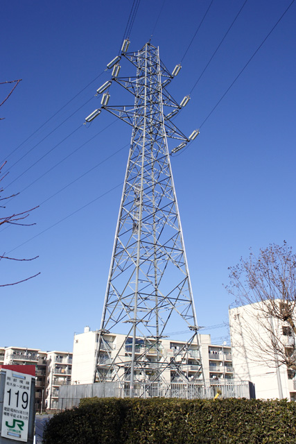 岡部境線119号鉄塔