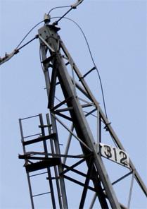 安曇幹線312号鉄塔