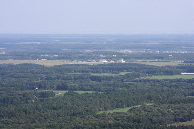 開陽台から見た中標津空港