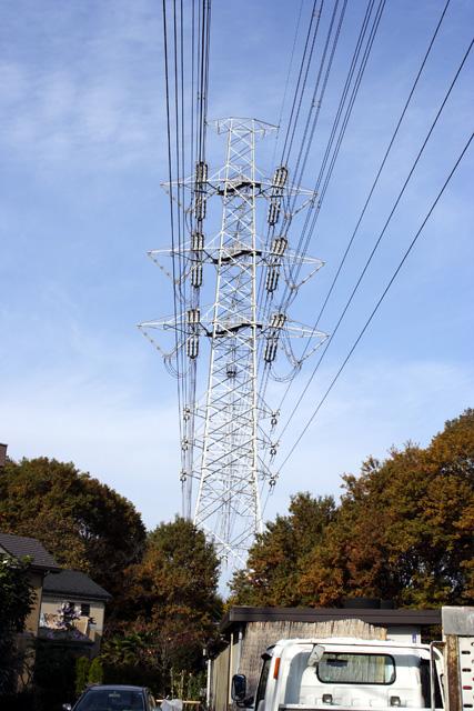 南狭山線36号鉄塔
