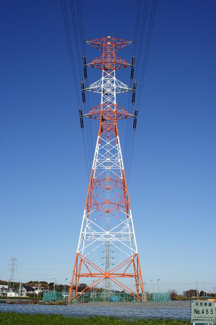 只見幹線465号鉄塔