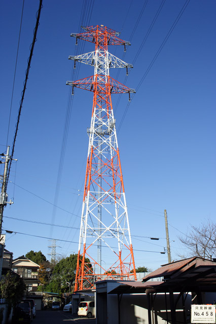 只見幹線458号鉄塔