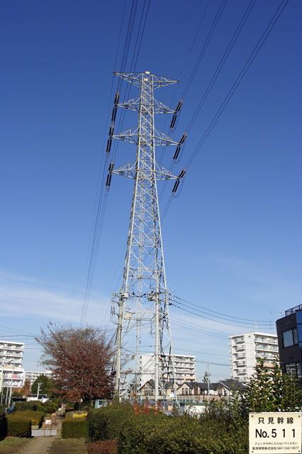 只見幹線511号鉄塔