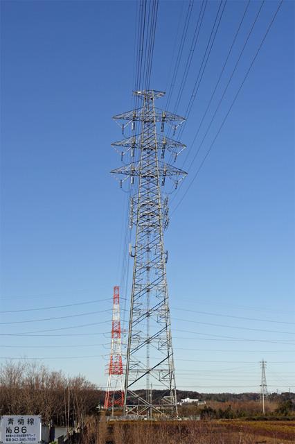 青梅線86号鉄塔