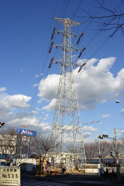 只見幹線535号鉄塔