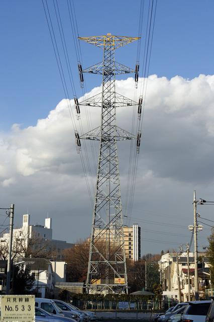 只見幹線533号鉄塔