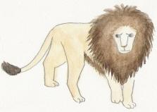 ねこ夫婦まんが たまともんちゃん-lion