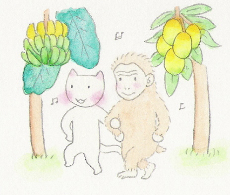 ねこ夫婦まんが たまともんちゃん-monsaru