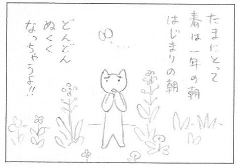ねこ夫婦まんが たまともんちゃん-kisetsu2