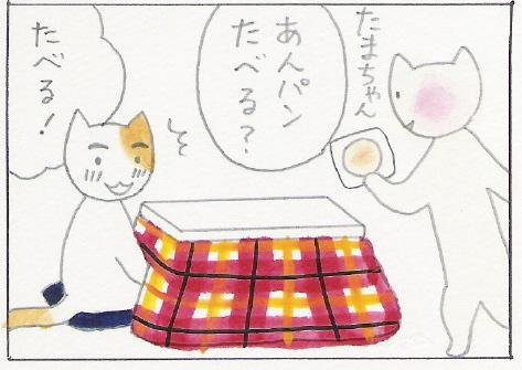 ねこ夫婦まんが たまともんちゃん-anpan5