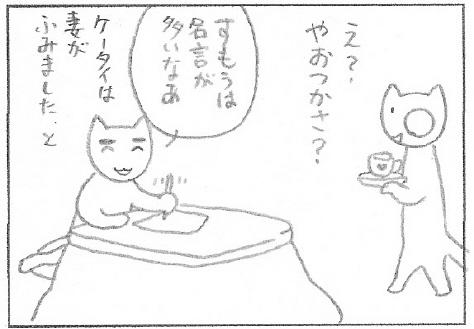 ねこ夫婦まんが たまともんちゃん-sumou4