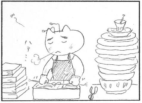 猫まんが たまともんちゃん-souji5