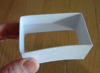 ミシンの引き出し 厚紙の仕切り