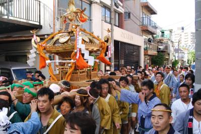 牛島神社お祭り