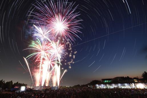 立山町の花火大会 「第5回 たてやまドンドン祭りin吉峰」818
