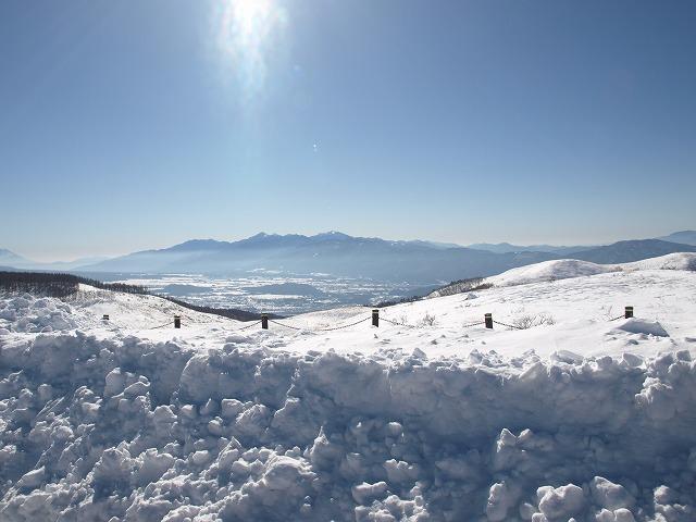 20140127富士見台茶屋の雪景色 (3)