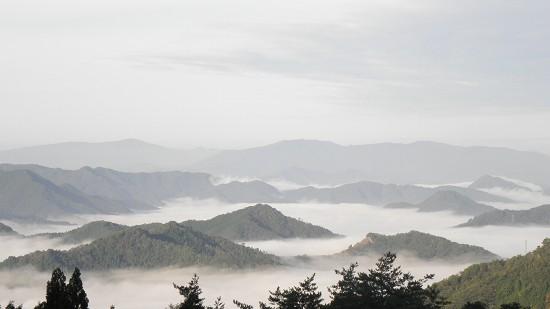 郷路からの雲海