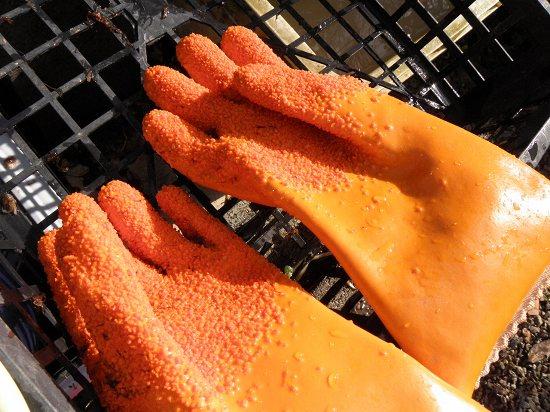 皮むき用の手袋