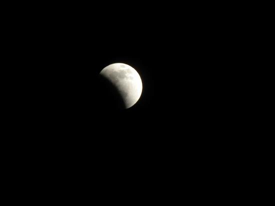 皆既月食 22:25
