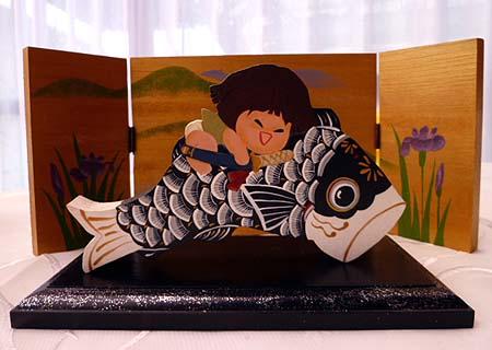 鯉のぼり&金太郎