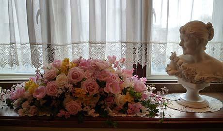 メインテ-ブルのお花