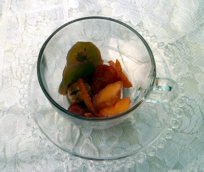 3果実園のハ-ブティ-