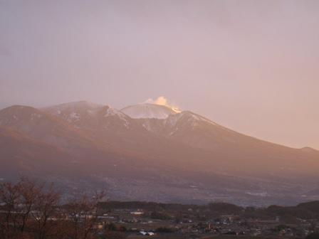 2011浅間山