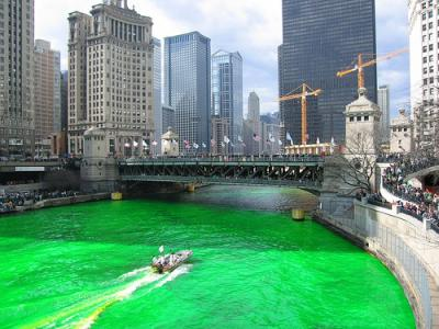 St.Patrick's Day River