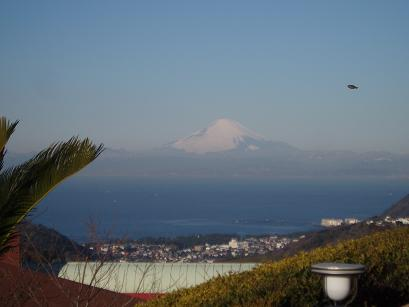 Mt. Fuji & UFO