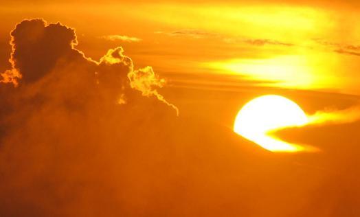sunset & Mt. Fuji