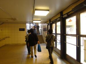 地下鉄でうろうろ