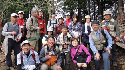 エコ登山記念写真
