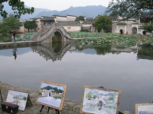 07092202宏村入口風景