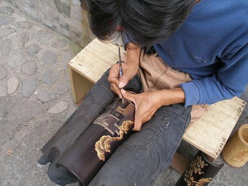 07092206竹彫り