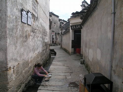 07092221水路のある風景・宏村