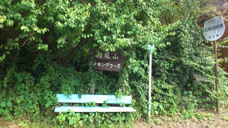 野巻林道入口1