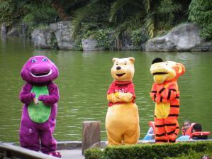 メキシコの動物園