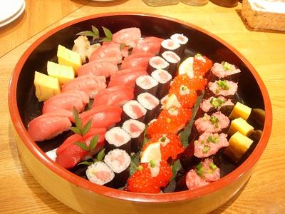 ブログ用寿司 赤身