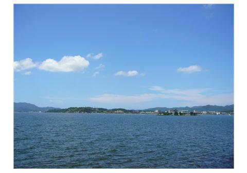 7.20 宍道湖。