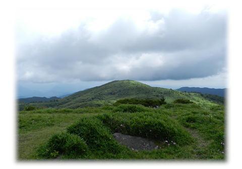 7.31 岩樋山山頂より道後山